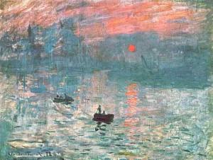 Claude Monet (1872): Impression: soleil levant - Musée Marmottan, Parijs