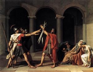 David (1784): Eed van de Horatii – Louvre