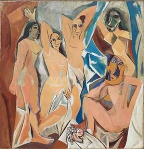 Picasso (1917): Les Demoiselles d' Avignon – Museum of Modern Art, NY