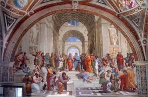 Rafael (1511): School van Athene – Apostolisch Paleis, Vaticaanstad
